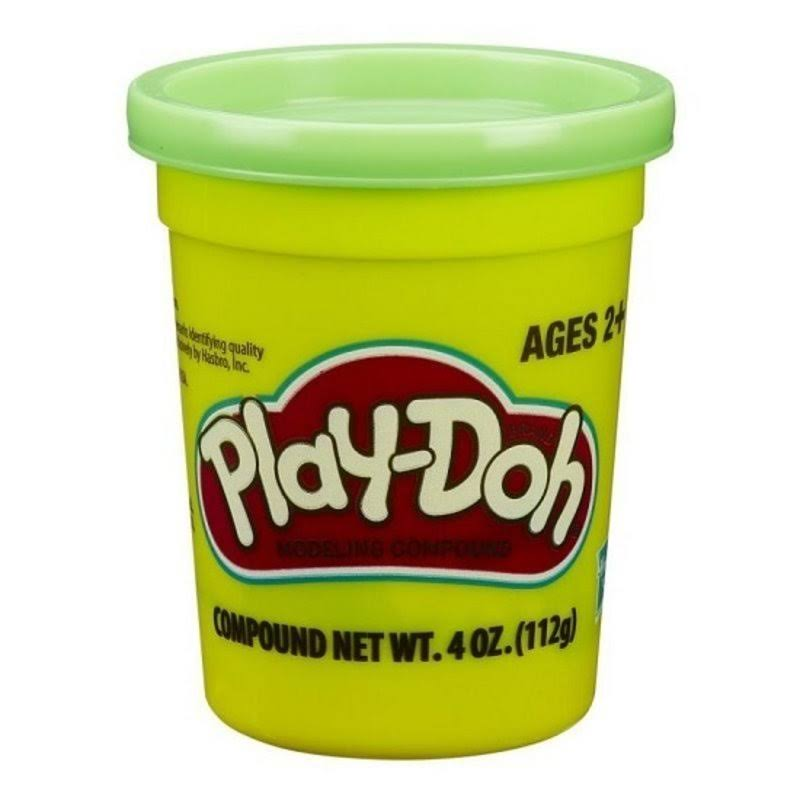 Play-Doh Single Can - Neon Green, 4oz