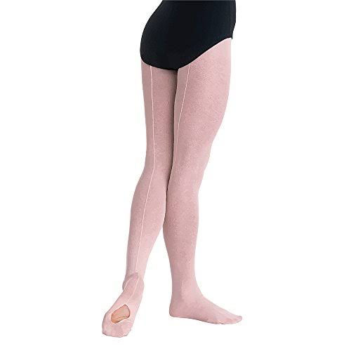 Body Wrappers Backseam Convertible Mesh TIGHTS-ADULT Medium / Theatrical Pink