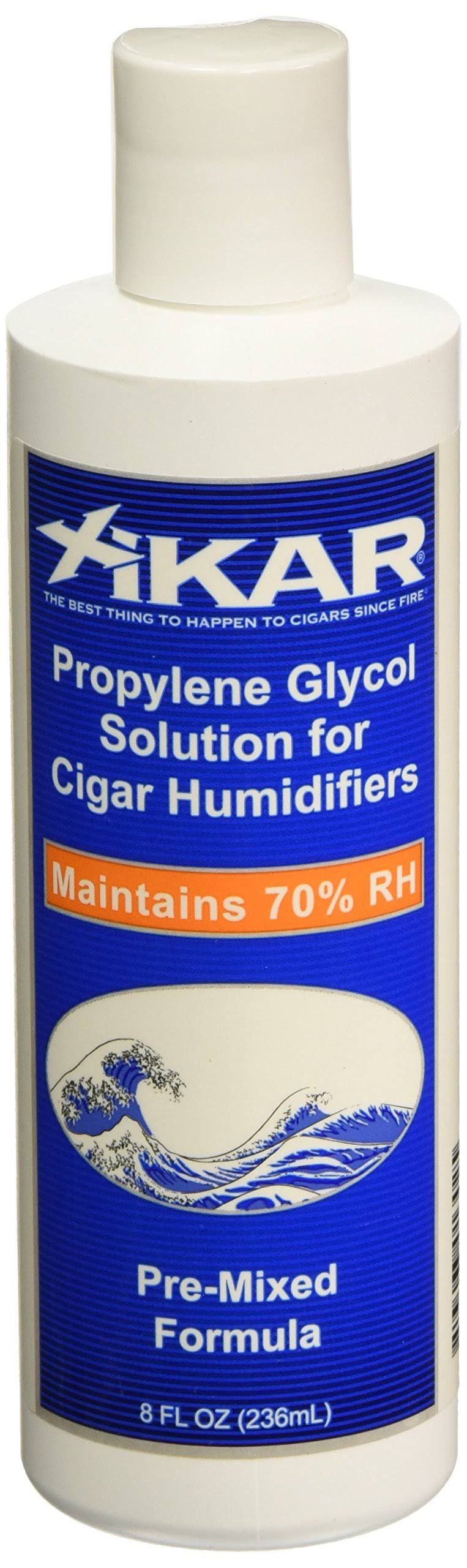 The Big Easy Tobacco Accessories Xikar PG Solution Propylene Glycol Pre Mix Cigar Humidifiers 8 fl oz 814XI