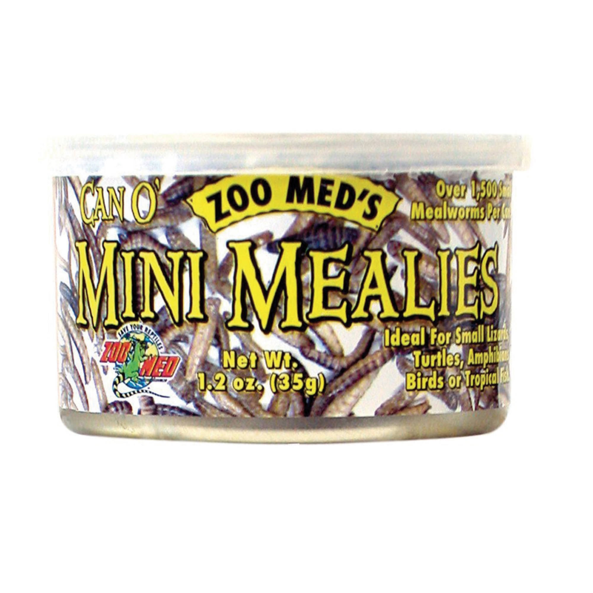 Zoo Med Can O Mini Meal Worms - 1.2oz