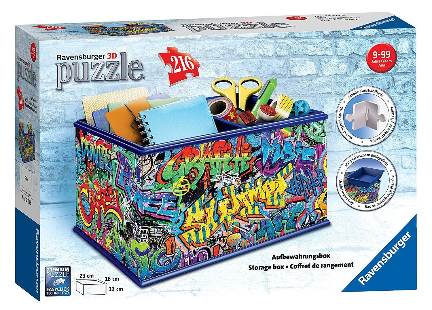 Ravensburger Graffiti Storage Box 3D Jigsaw Puzzle