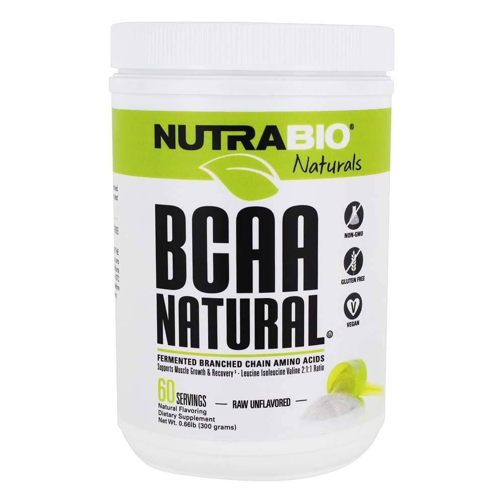 Nutrabio BCAA 5000 Dietary Supplement Powder - Unflavored, 400g