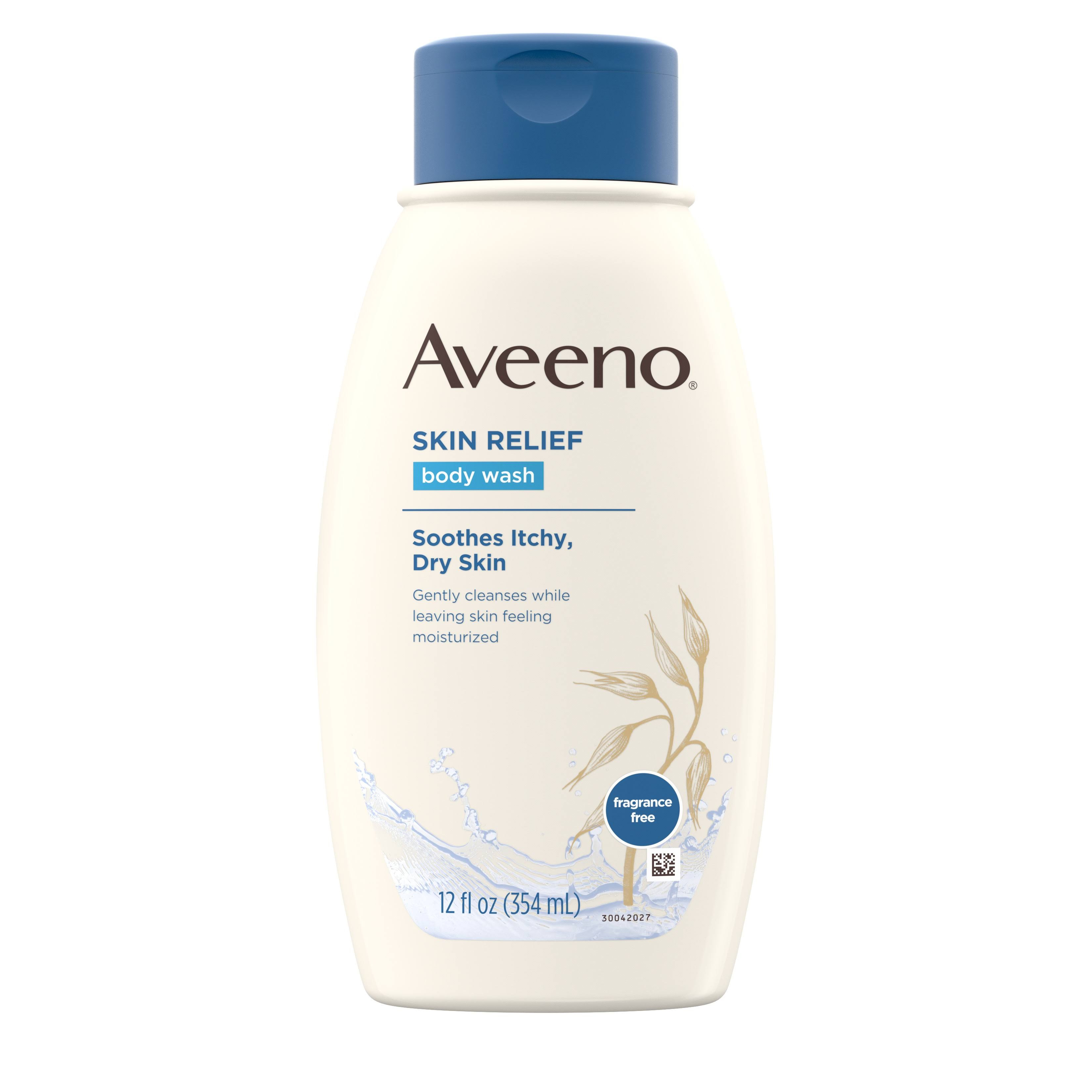 Aveeno Active Naturals Skin Relief Body Wash - 12 fl oz bottle