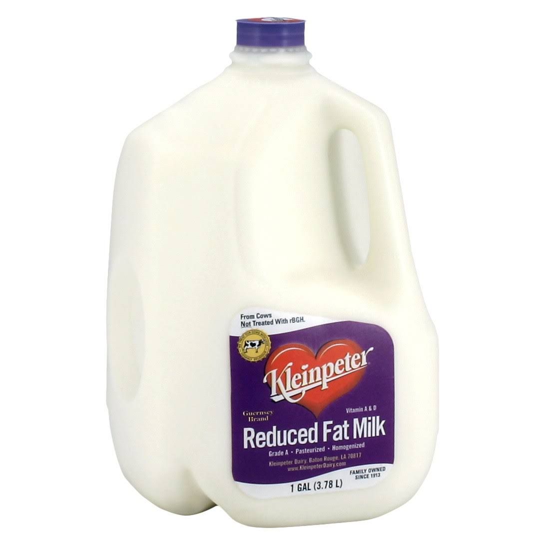 Kleinpeter Reduced Fat Milk - 1gal