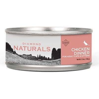 Diamond Naturals Chicken Dinner Cat Food, 5.5-oz.