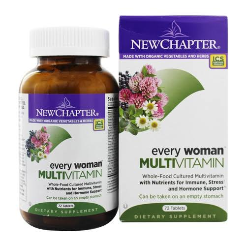 Chapter Organics Every Woman Whole Food Multivitamin - 72ct