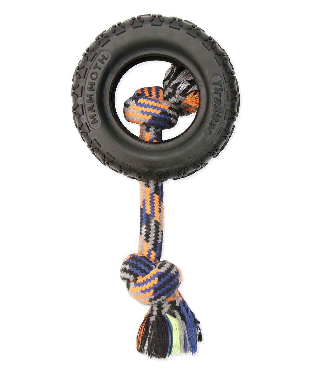 TireBiter II Rope Dog Toy Mammoth 35016F