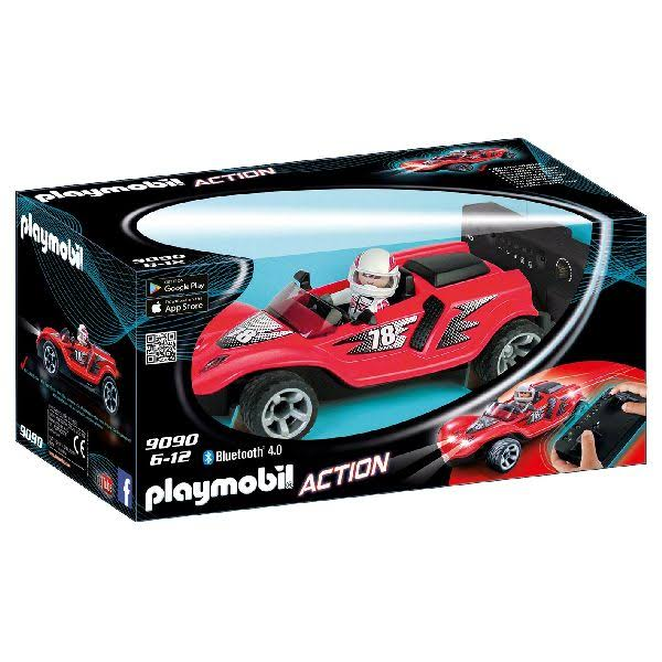Playmobil Action 9090 Rocket Racer RC - Red