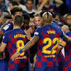 Barcelona 4-0 Sevilla: Lionel Messi and Luis Suarez inspire LaLiga champions to emphatic victory