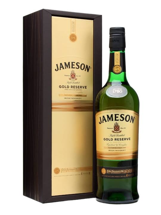 Jameson Gold Reserve Irish Whiskey - 700ml