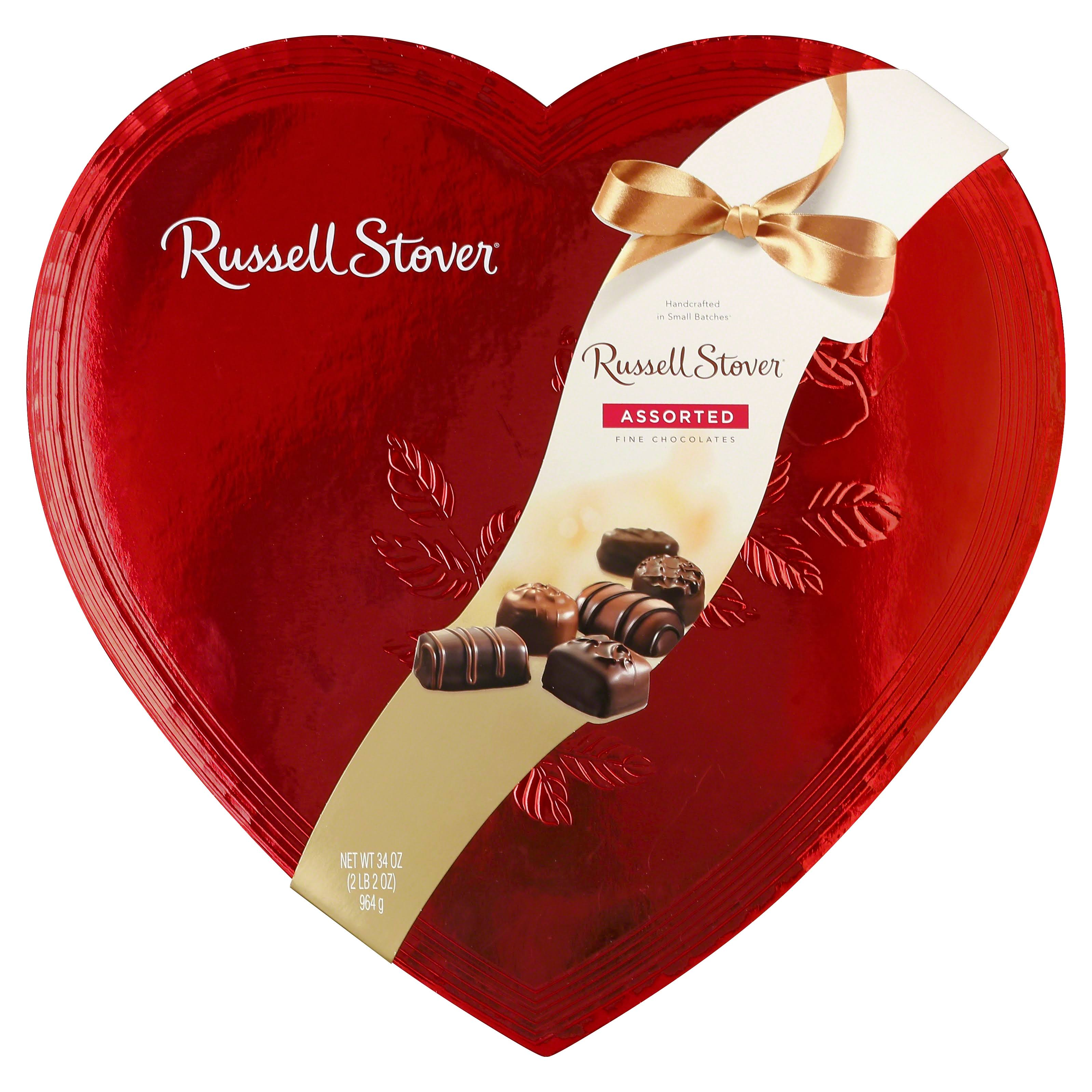 Russell Stover Assorted Fine Chocolates - 59ct, 34oz