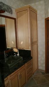 Tall Narrow Linen Cabinet With Doors by Ready Door Unfinished Pine Shaker Used Furniture Laminate Double