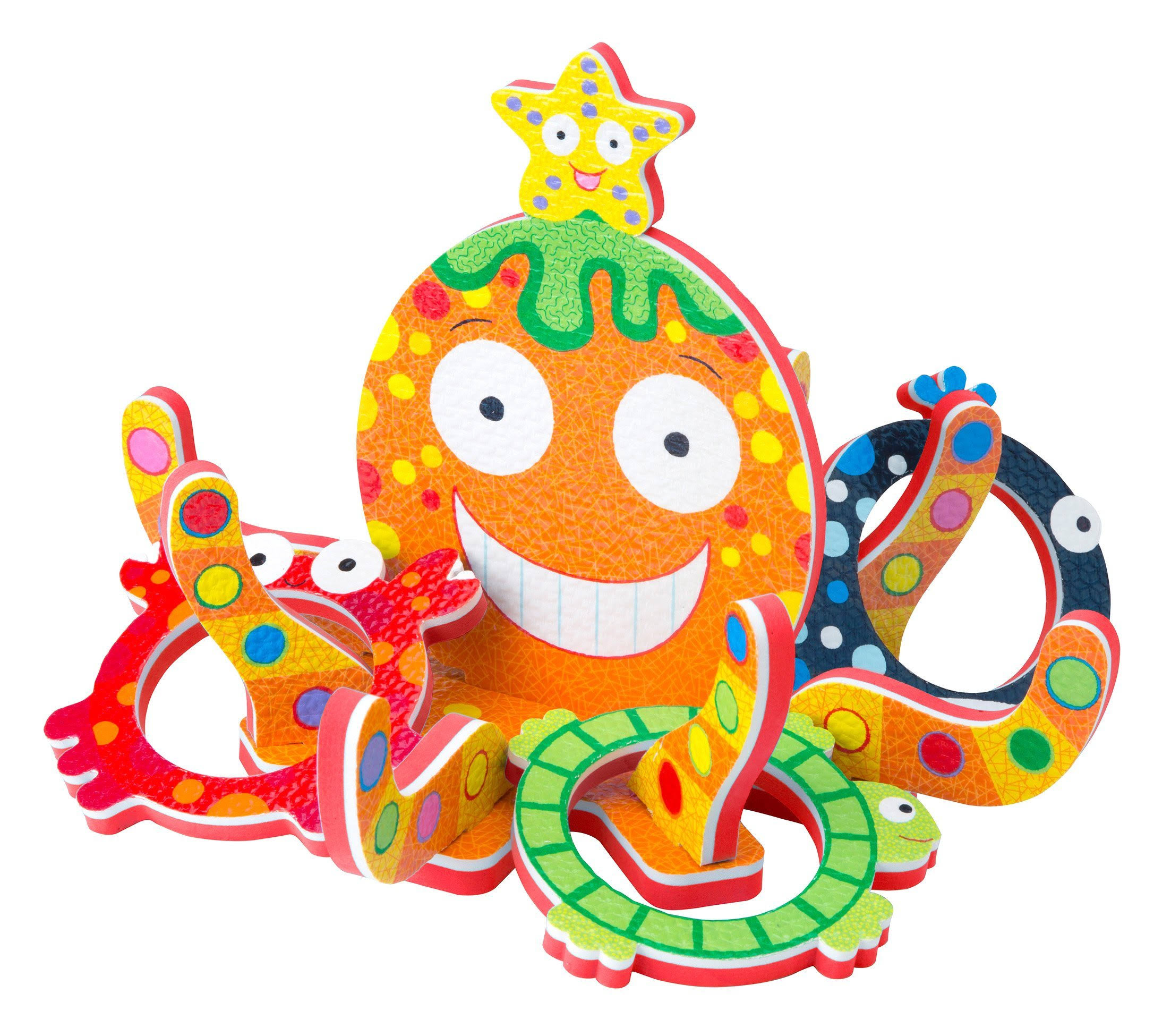 Alex Toys A Rubber Tub Octopus Tub Toss Bath Play Set