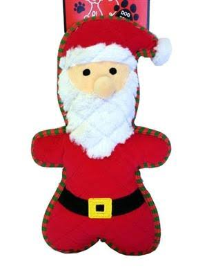 Petlou Dog Toy Christmas Bite Me Santa 9 inch