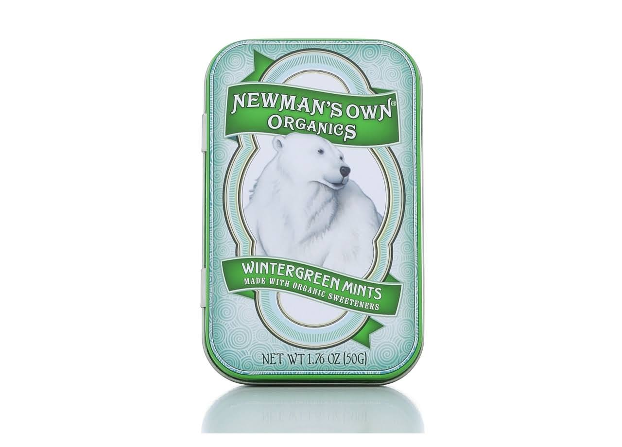 Newmans Own Organics Mints - Wintergreen