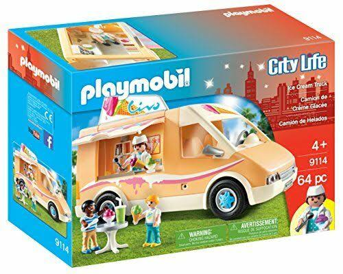 Playmobil Ice Cream Truck Toy