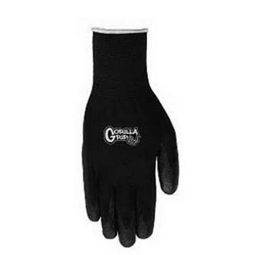 Big Time Products 25054-26 Grease Monkey Gorilla Grip Gloves - Black, X-Large