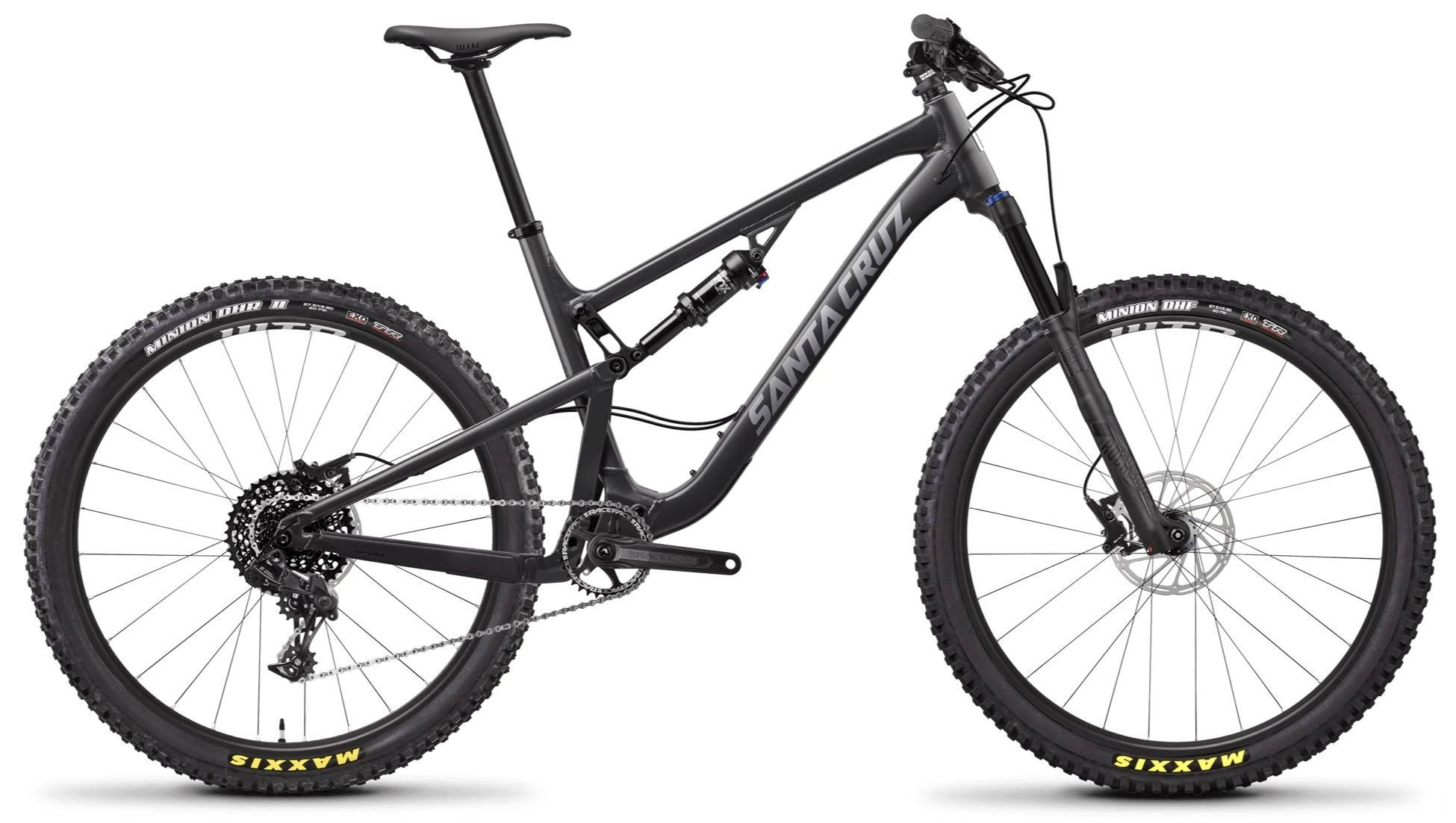 Santa Cruz 5010 Aluminum D Mountain Bike - Black, Medium