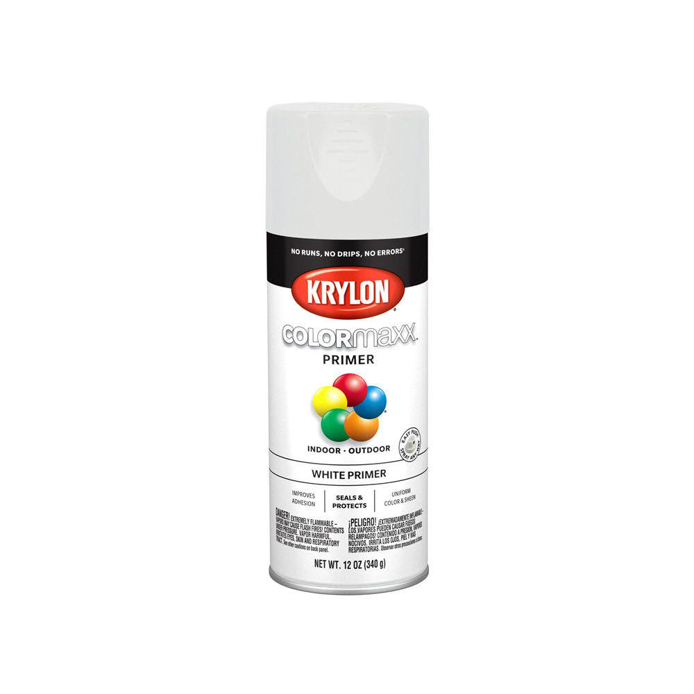 Krylon Paint Spray White Primer 12oz K05584007
