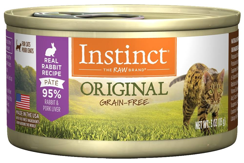 Nature's Variety Instinct Grain-Free Rabbit Formula Canned Cat Food By - 5.5oz