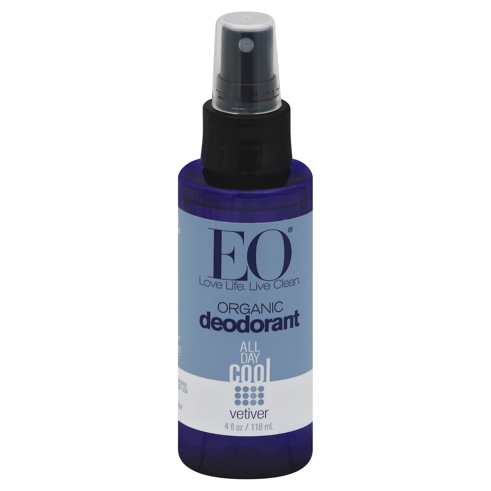 EO Organic Deodorant Spray - Vetiver