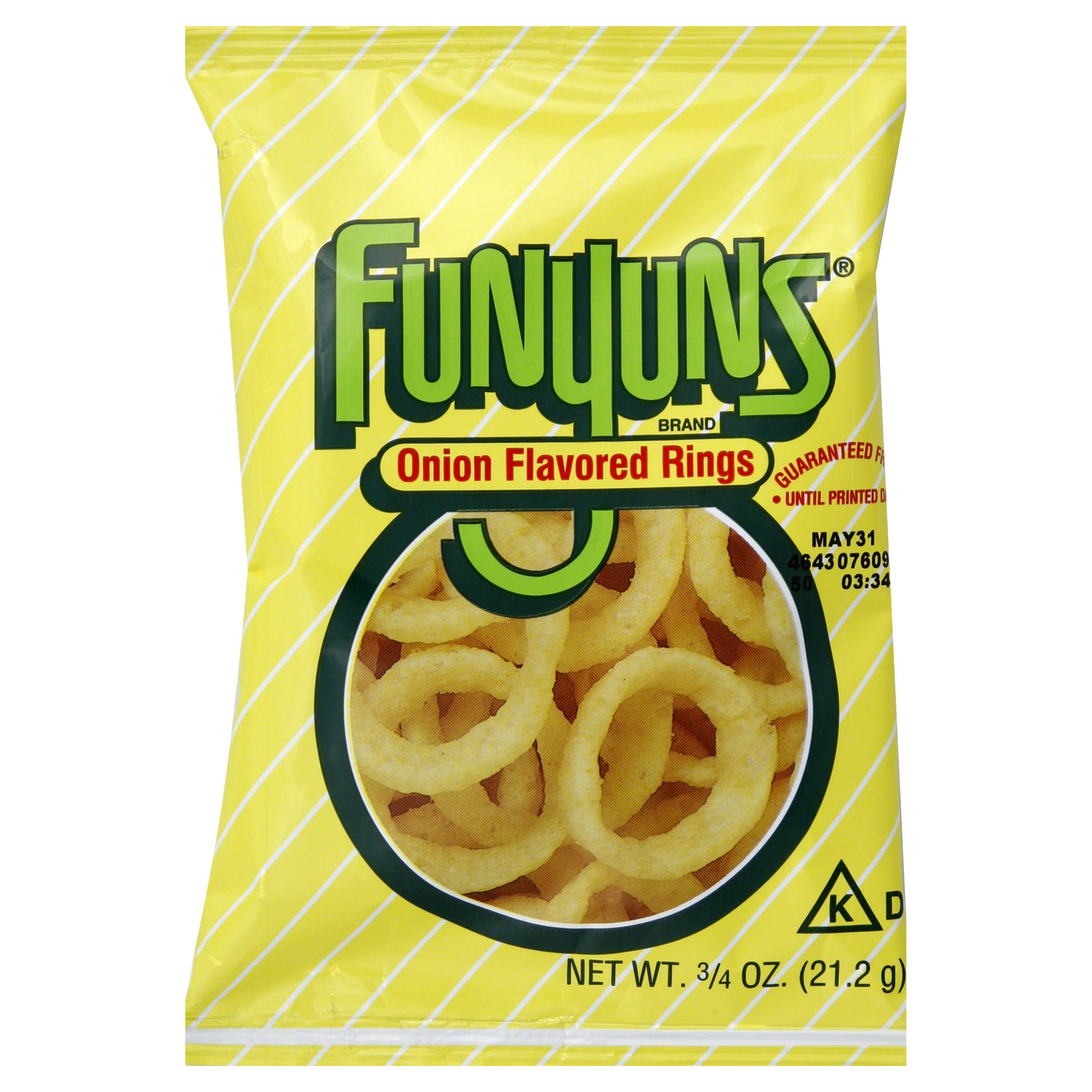 Funyuns Onion Flavored Rings - 21g