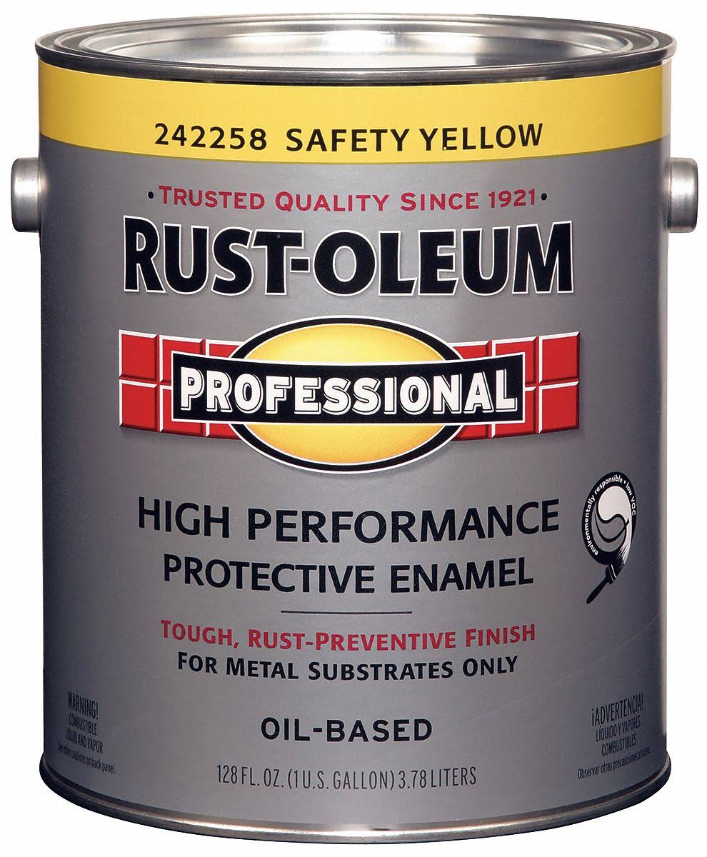Rustoleum High Performance Protective Enamel - 3.8L, Safety Yellow