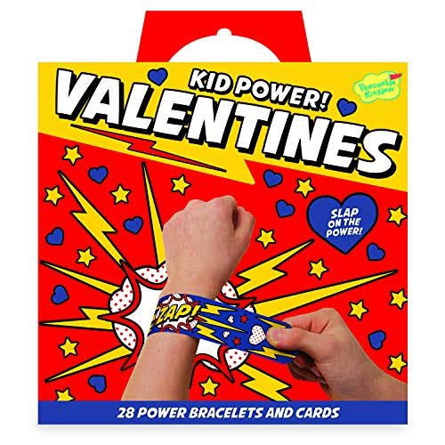 Peaceable Kingdom Kid Power! Valentines