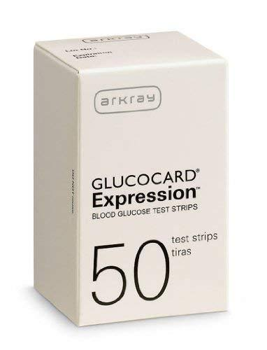 Arkray Glucocard Expression Blood Glucose Test Strips - 50ct