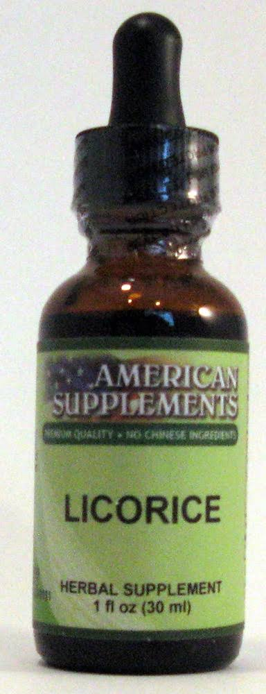 American Supplements Licorice - 1 oz Liquid