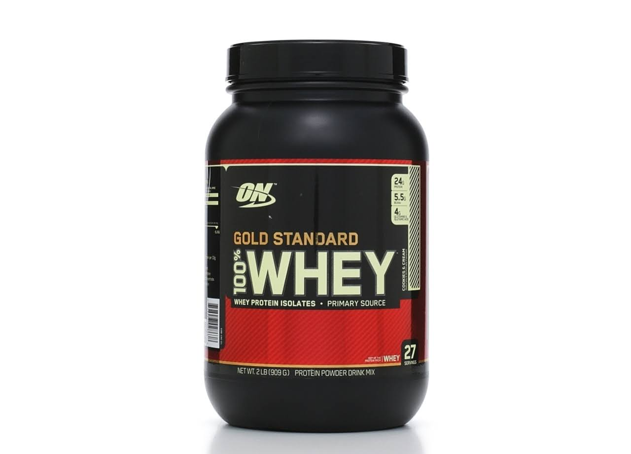 Optimum Nutrition Gold Standard 100% Whey Protein - Cookies & Cream