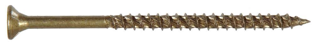 The Hillman Group 47859 Power Pro Outdoor Wood Screw - Star Drive, Size #9 x 2 1/2""