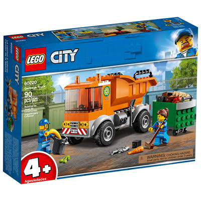 Lego City Building Toy, Garbage Truck