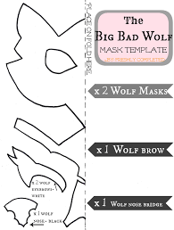 Wolf Pumpkin Stencils Free Printable by Freshly Completed The Big Bad Wolf Costume Tutorial Cosplay