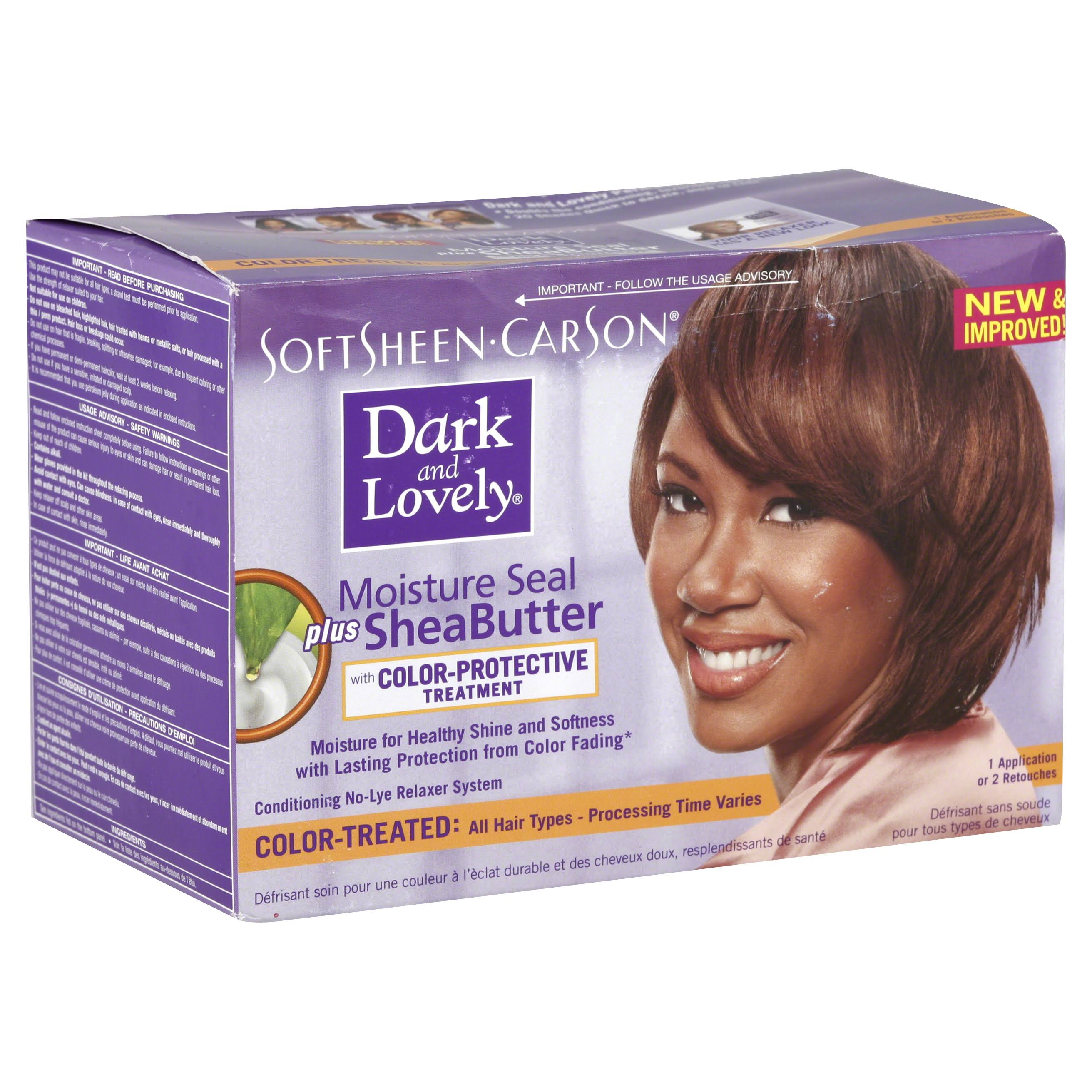 Dark and Lovely Relaxer Kit for Color Treated Hair