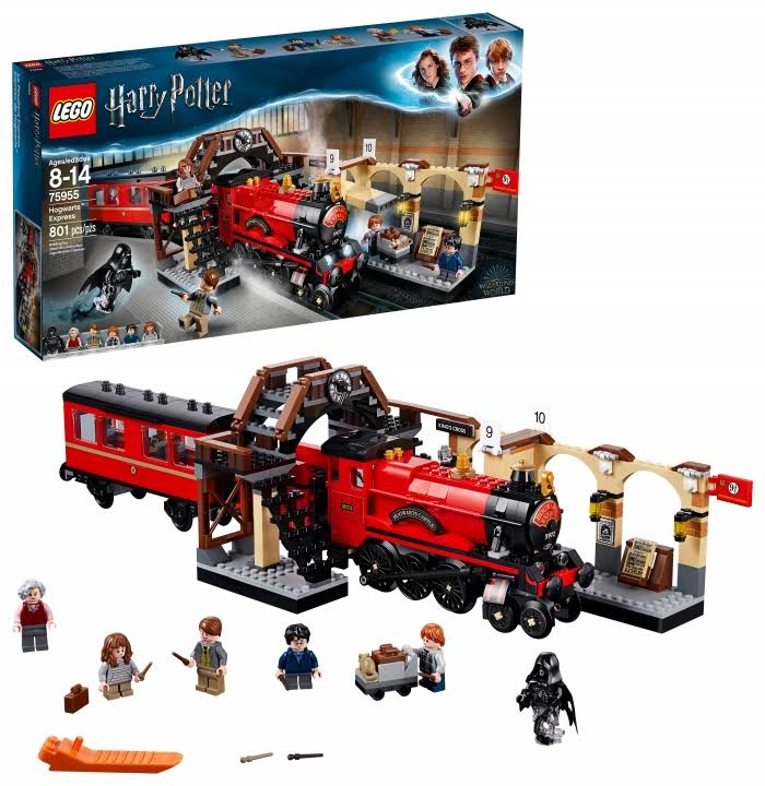 Lego Harry Potter Building Set - Hogwarts Express, 801pc