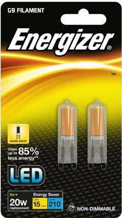 Energizer Led Capsule Light Bulbs - Warm White, 20W