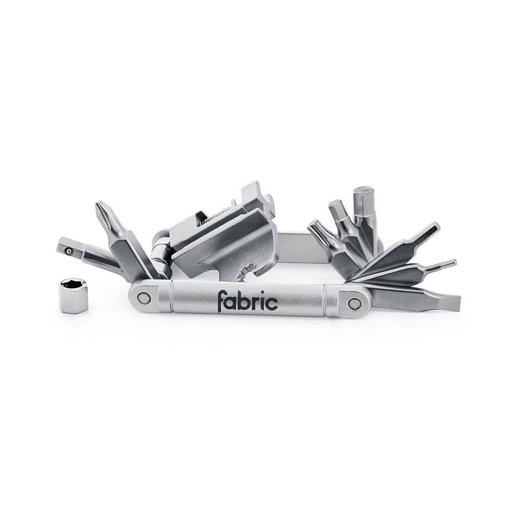 Fabric - 16 in 1 Mini Tool Silver