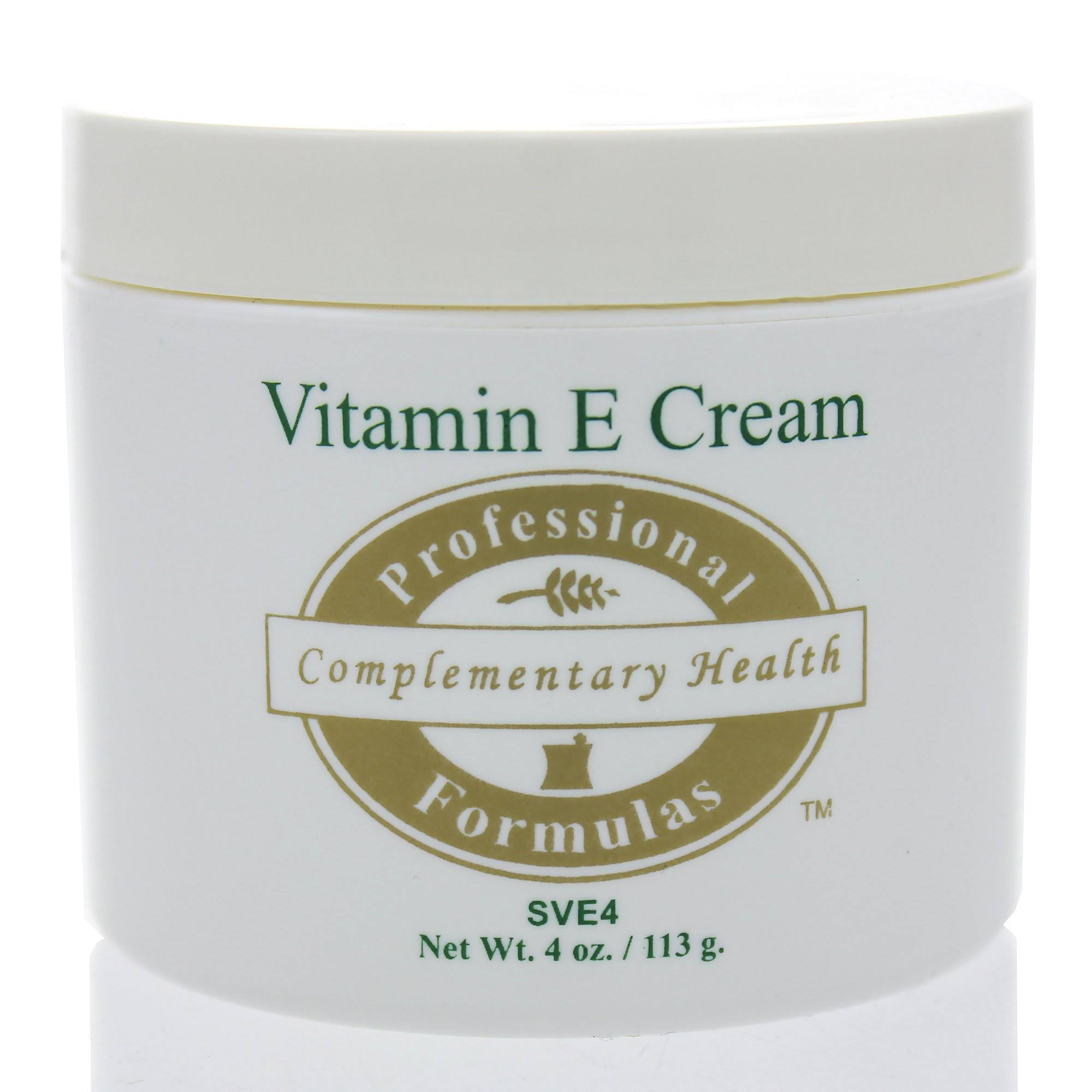 Professional Formulas Vitamin E Cream 4oz (F)