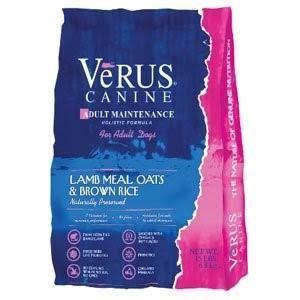 VeRus Adult Maintenance Dog Food - Lamb Meal, Oats and Brown Rice Formula, Dry