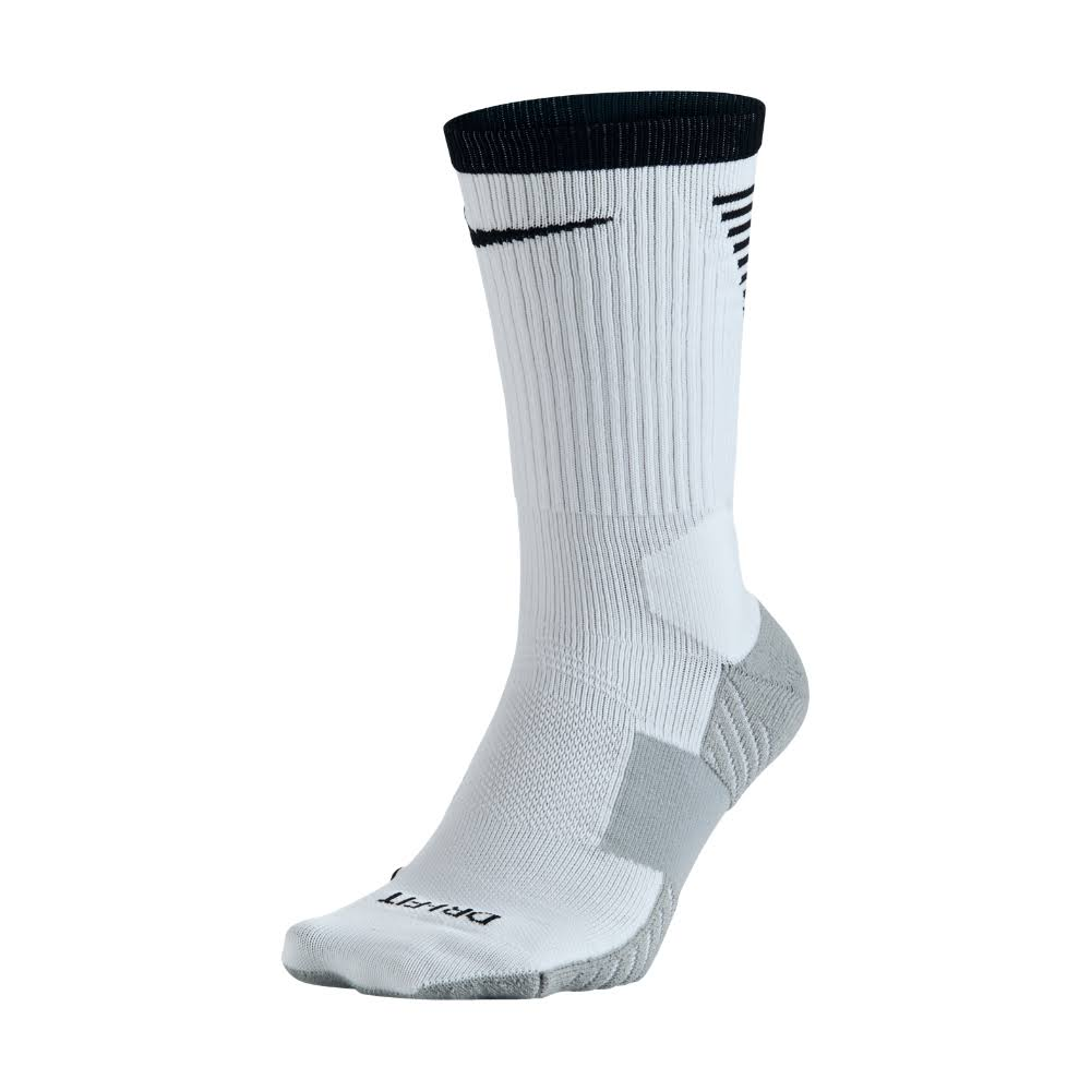 Nike Stadium Crew Socks-White/Black