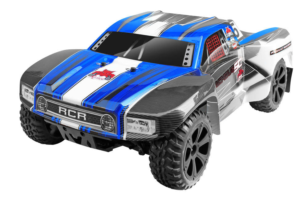 Redcat Racing Blackout Electric Short Course Truck Car Toy - 4x4, 1:10 Scale