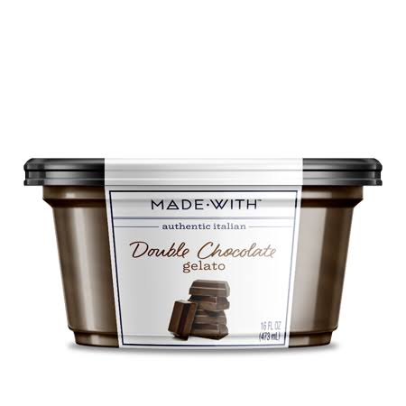 Made with: Double Chocolate Italian Gelato, 16 oz
