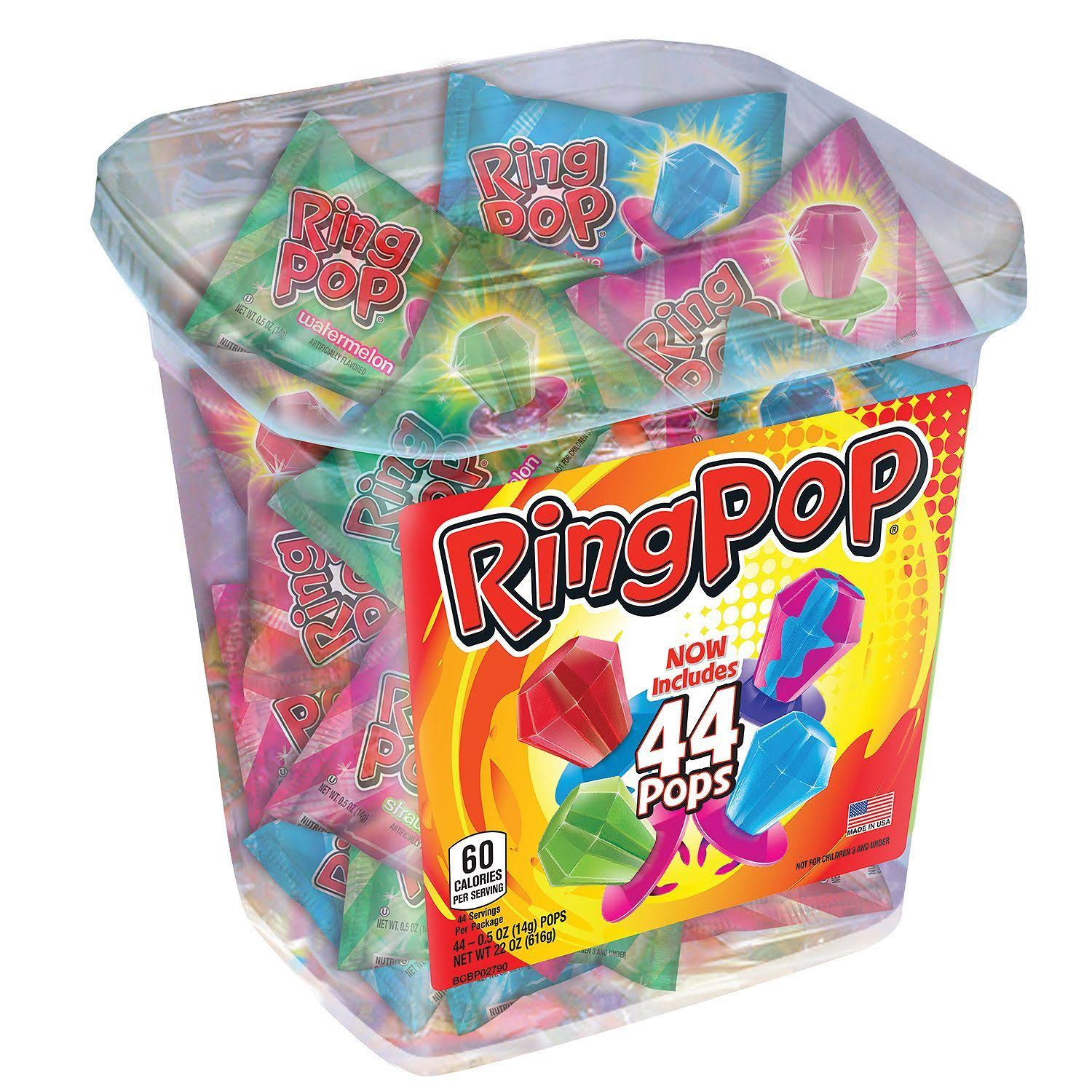Ring Pop Assorted Jar