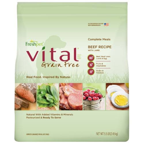 Freshpet Vital Complete Meals for Dogs - 5.5lbs