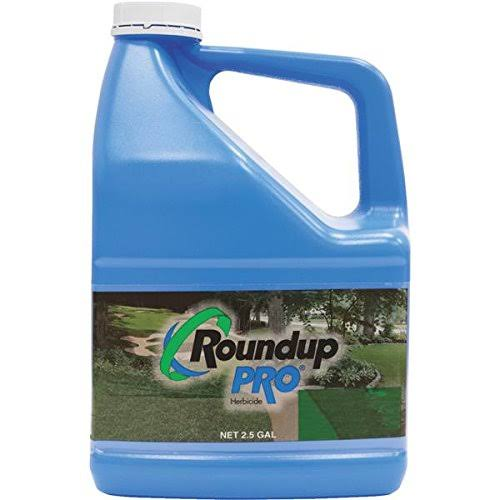 Roundup 8889110 Pro Weed Killer Concentrate - 2.5 Gallon