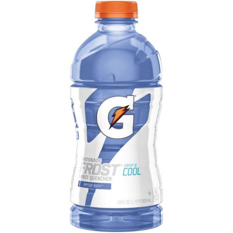 Gatorade G Series Perform Frost Riptide Rush Sports Drink - 28 Oz