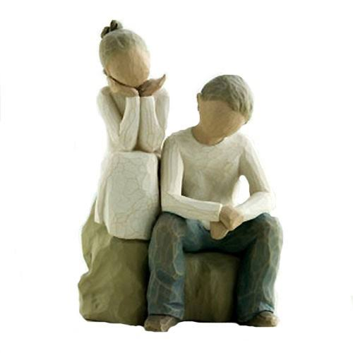 Brother and Sister (Willow Tree) Figurine