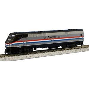 Kato 176-6021 Ge P42 Amtrak Heritage Phase Iii Train - N Scale
