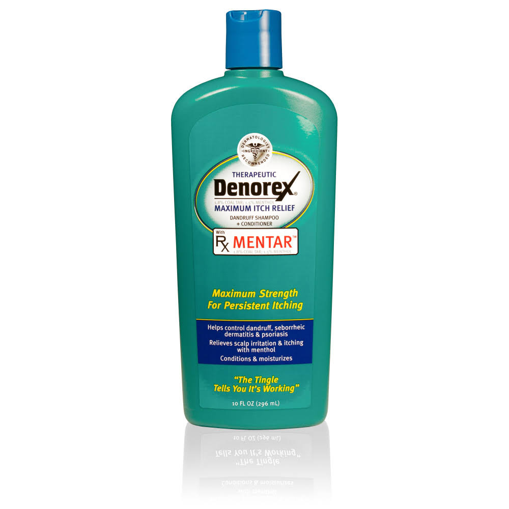 Denorex Therapeutic Dandruff Shampoo and Conditioner - Maximum Itch Relief, 10oz